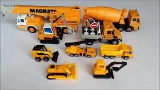 Download Masini de constructie pentru copii. Invatam denumirile si sunetele lor: betoniera, excavator, etc Video