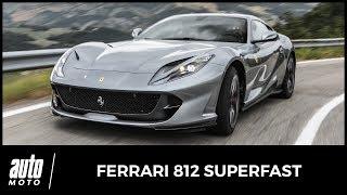 Download 2017 Ferrari 812 Superfast [ESSAI] : la meilleure GT du monde (acceleration + sound) Video