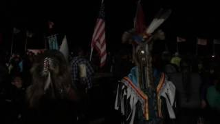Download First Nation Native Mexican Tribe arrving at Standing Rock Camp Video