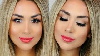 Download SPRING MAKEUP! CORAL LIPS & BRONZE SKIN + ALEX GARZA ″Beauty Bag″ Video