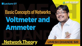 Download Voltmeter and Ammeter | Network Theory Video