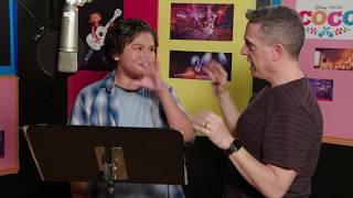 Download Jaime Camil & Anthony Gonzalez Voice Recording for Pixar's Coco Video