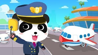 Download Baby Panda's Airport | Cool Flight Journey | Airplane Safety Tips | Gameplay Video | BabyBus Game Video