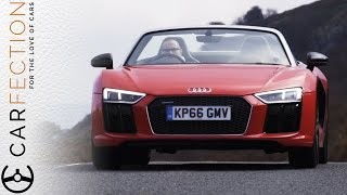 Download Audi R8 V10 Spyder: Topless Sounds So Good - Carfection Video