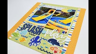 Download Scrapbooking Process Video ″Splash and play″ by Becki Adams Video