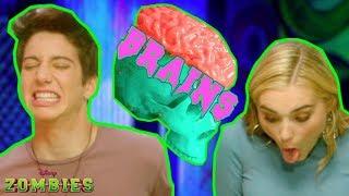 Download Zombie Brain Food Challenge 😋   ZOMBIES   Disney Channel Video