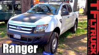 Download Revealed: Mexican sold Ford Ranger Pickup Sneaks Across the Border Video