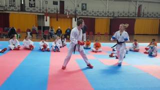 Download Counter Attacking with Christina Sensei at CIKA England Kumite Training Session Video