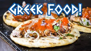 Download Greek Food - STREET FOOD TOUR and Amazing Souvlaki in Athens, Greece! Video