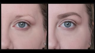 Download HOW TO FILL IN SPARSE EYEBROWS Video