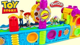Download TOY STORY Characters Visit Magic Play Doh Mega Fun Factory Playset! Video