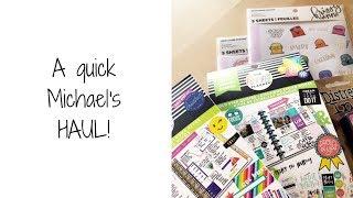 Download A quick Michael's HAUL! Video