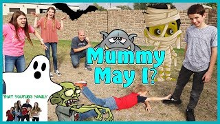 Download Mother May I Halloween - Mummy May I / That YouTub3 Family I Family Channel Video