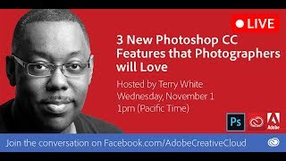 Download 3 New Photoshop CC Features that Photographers Will Love Video
