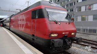 Download 4K UHD Fribourg - Freiburg SBB CFF FSS Station. Video