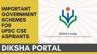 Download Diksha Portal - Important Government Schemes For UPSC ASPIRANTS By Rahul Agrawal Video