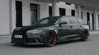 Download LEVELLA | Audi RS6 - Zeiten Messen 0-100, 100-200 Video