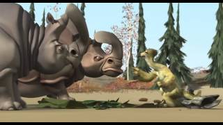 Download Ice Age 1 Sid and Rhino with Mammoth Video