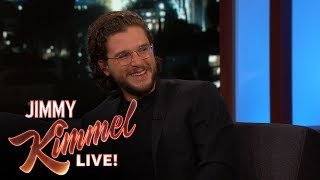 Download Jimmy Kimmel Grills Kit Harington for Game of Thrones Spoilers Video
