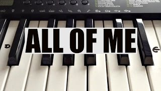 Download How To Play ALL OF ME- John Legend Intro on Piano - Easy! Video