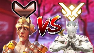 Download Bronze Player Vs. Grand Master 1v1 [Overwatch] Video
