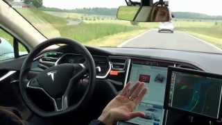 Download Tesla Model S - Bosch Automated Driving Video
