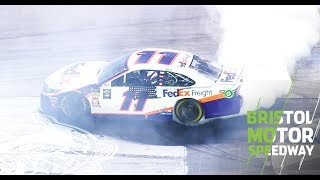 Download Denny does donuts at Bristol after thrilling win Video