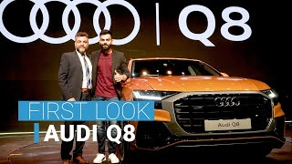 Download First Look: Audi Q8 SUV enters the ultra premium segment in India Video