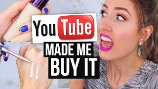 Download YouTube Made Me Buy it! || HYPED Makeup: Was it Worth it?! Video