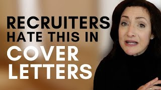 Download 2 Things Recruiters HATE To Read On Cover Letters Video