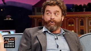 Download Zach Galifianakis Can't Be Taken Seriously Video