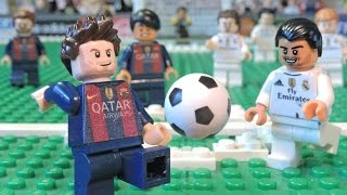 Download Messi vs Ronaldo - MESSI RAGE - LEGO Brick Film Parody Video