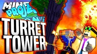 Download Minecraft - TURRET TOWER - Project Ozone #143 Video