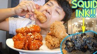 Download Korean FRIED CHICKEN (KFC) Tour of Seoul South Korea Video