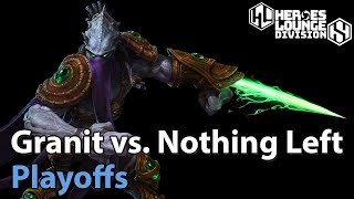 Download ► Heroes of the Storm: Granit Gaming vs. Nothing Left - Division S Playoffs Video