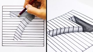 Download 20 EASY AND COOL DRAWING TRICKS Video