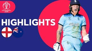 Download England vs New Zealand - Match Highlights | ICC Cricket World Cup 2019 Video