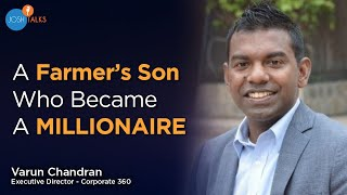 Download How a Farmer's Son & Dropout Became a Millionaire? | Varun Chandran | Motivational Story Video
