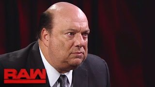 Download Paul Heyman makes a jaw-dropping Brock Lesnar announcement: Raw, Nov. 28, 2016 Video