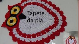 Download Tapete da pia e do vaso (Jogo de banheiro CORUJA) Video