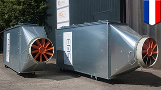 Download Urban air cleaning: ENS technology system could turn car parks into lungs of the city - TomoNews Video