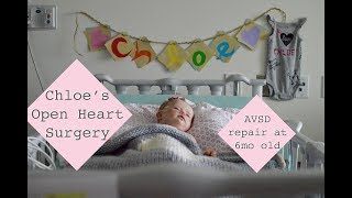 Download Chloe's Open Heart Surgery | AVSD Repair at 6 Months Old | BC Children's Hospital Video