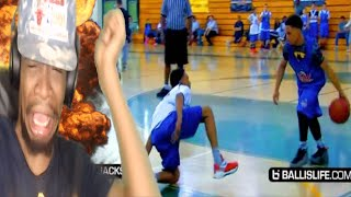 Download BRO I CANT HANDLE THIS!! BALLISLIFE ANKLE BREAKERS VOL 1 REACTION!! Video