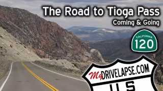Download Tioga Pass Road: California 120 from Lee Vining to Yosemite Video