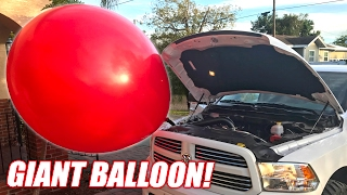 Download We Hooked a GIANT BALLOON To My ProCharger! Video