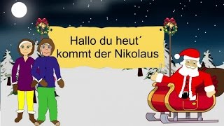 Download Hallo du heut kommt der Nikolaus Video