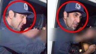 Download Ranbir Kapoor misbehaves with media Video