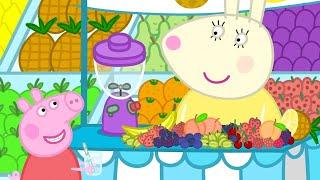 Download Peppa Wutz 🍎 Obst mit Frau Mümmel | Peppa Pig Deutsch Neue Folgen | Cartoons für Kinder Video