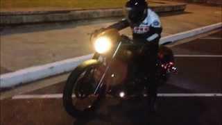 Download Yamaha DragStar 650 / VStar 650 - The ″Racing Bitch″ / Night Ride Video
