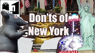 Download Visit New York - The Don'ts of New York City Video